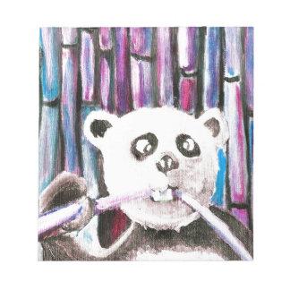 Playful Panda Scratch Pad