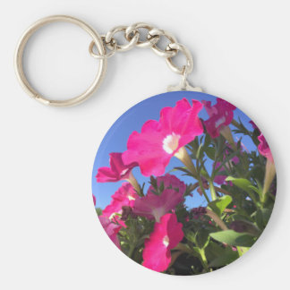 Playful Petunias Collection Keychain
