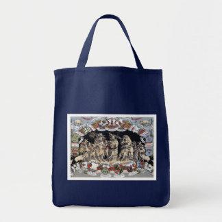 Playful Pigs Tote Bag