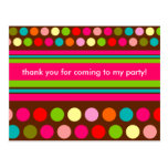 Playful Polka Dots Postcard