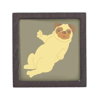 Playful Pug Gift Box