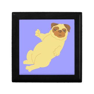 Playful Pug Jewelry Box