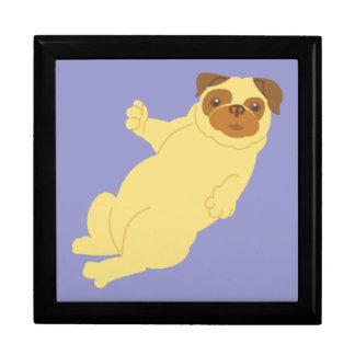 Playful Pug Keepsake Box