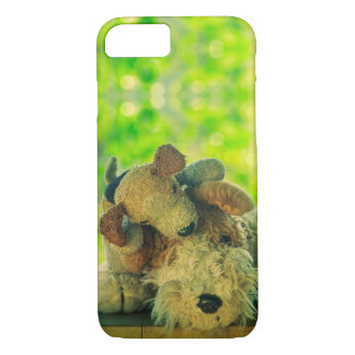 Playful Pup & His Sleepy Dad | iPhone 7 Case