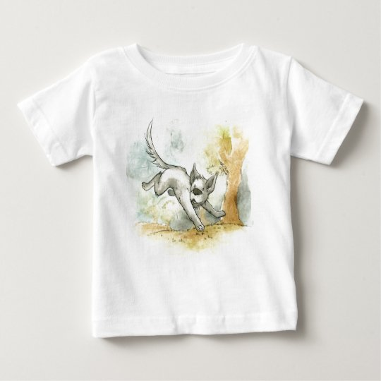 Playful Puppy Baby T-Shirt