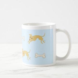 Playful puppy coffee mug