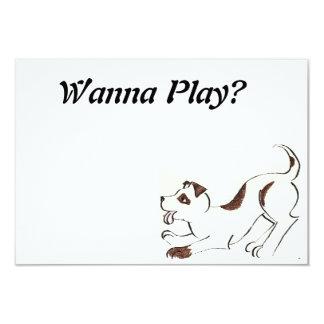 Playful Puppy Invitation