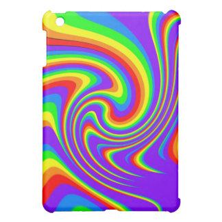 Playful Rainbow Design iPad Case