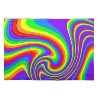 Playful Rainbow Placemat