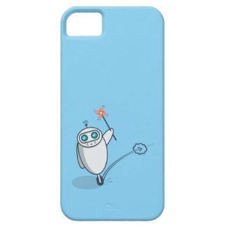 Playful Robot iPhone SE/5/5s Case