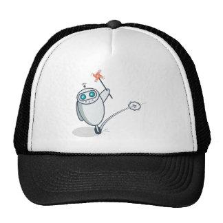Playful Robot Trucker Hat