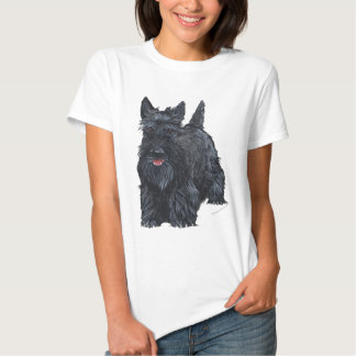 Playful Scottish Terrier T Shirts