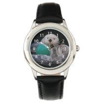 Playful Sea Otters Photo Wrist Watch