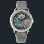 """Playful Sea Otters Photo Wristwatch<br><div class=""""desc"""">Stylish wrist watch that features the photo image of a pair of playful Sea Otters. Customize your watch from several styles and price ranges. To see other products offered in the store,  click on the Northwestphotos store link.</div>"""
