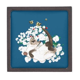 Playful Siamese Cat Premium Gift Boxes