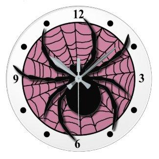 Playful Spider Web Huge Spider