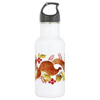 Playful Squirrel Water Bottle