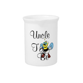 Playful Uncle To Be Beverage Pitchers