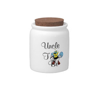 Playful Uncle To Be Candy Jar