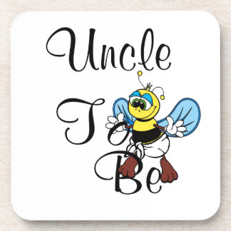 Playful Uncle To Be Coaster