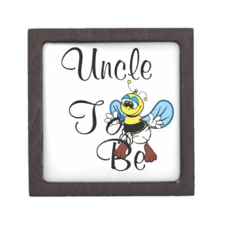 Playful Uncle To Be Premium Trinket Box