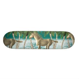 Playful Unicorn Custom Skateboard