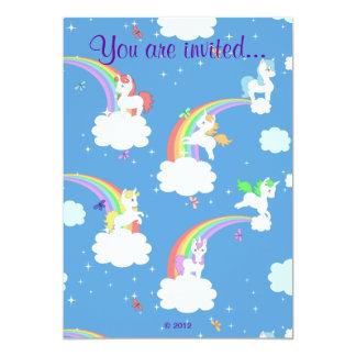 Playful Unicorns Card