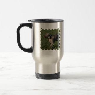 Playful Weimaraner Dog Stainless Travel Mug