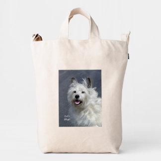 Playful West Highland Terrier Duci Bag