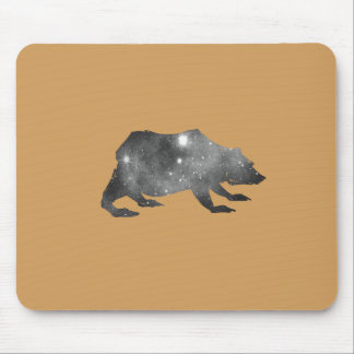 PLAYFULLY COOL UNIVERSE BEAR MOUSE PAD