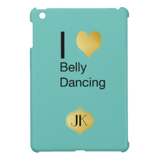 Playfully Elegant I Heart Belly Dancing iPad Mini Cover