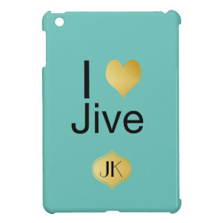Playfully Elegant I Heart Jive Case For The iPad Mini