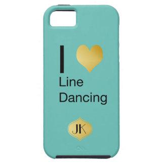 Playfully Elegant  I Heart Line Dancing iPhone SE/5/5s Case