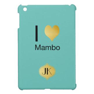 Playfully Elegant I Heart Mambo iPad Mini Covers