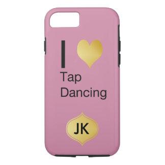 Playfully Elegant I Heart Tap Dancing iPhone 7 Case