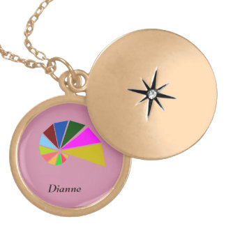 Playfully Geometric Snail Gold Plated Necklace
