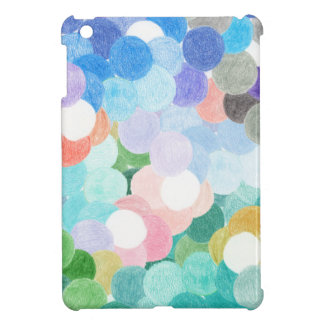 Playfully picturesque iPad mini cover