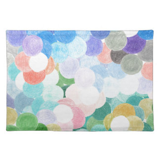 Playfully picturesque placemat