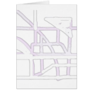 Playground Abstract Greeting Card