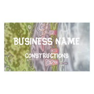 playground abstract pattern business card