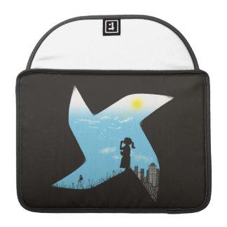 Playground Borders MacBook Pro Sleeves