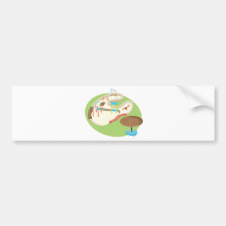 playground bumper sticker