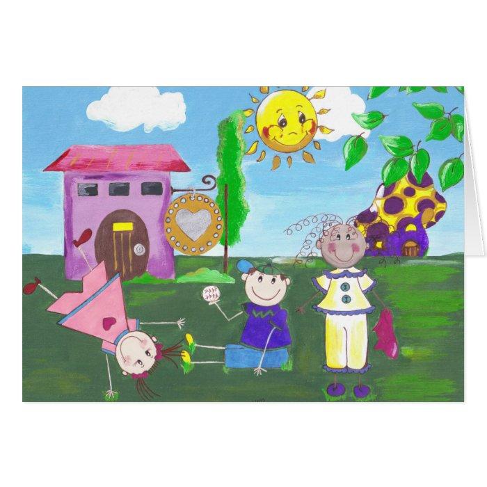 Playground Card
