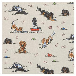 Playground Cavalier CKCS Spaniels Tan Fabric