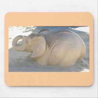 Playground Elephant Mouse Pad