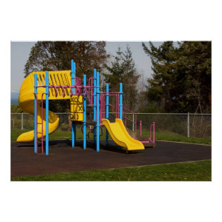 Playground Equipment Print