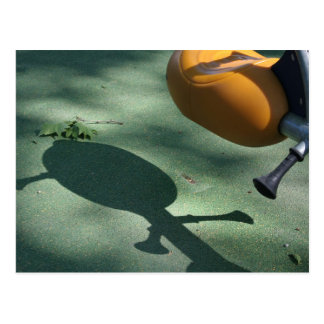 Playground for Children 15 Shadow Teeter-totter pc Postcard