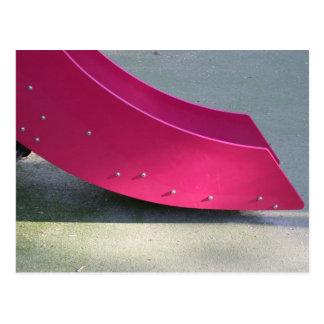 Playground for Children 28 Red Slide Postcard