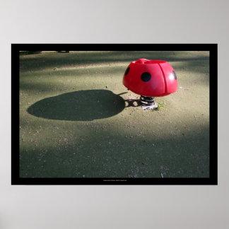 Playground for Children 30 Ladybug rocking Poster