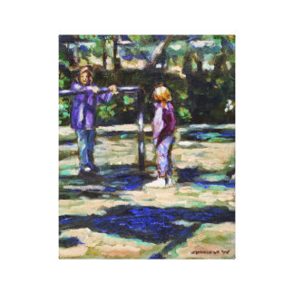 Playground Gallery Wrapped Canvas